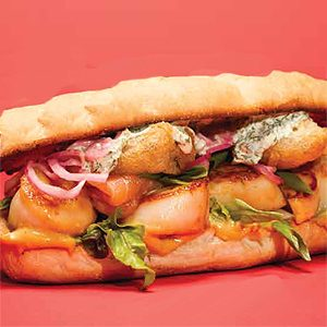 Great Canadian Burgers: Qualicum Bay Scallop Burger