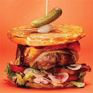 Au Pied de Cochon Foie Gras Burger