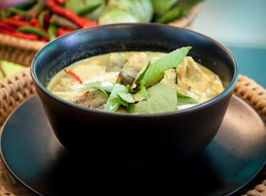 Thai Green Curry Chicken with Coconut Rice