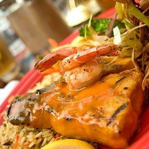 Grilled Tuna With Orange Sauce