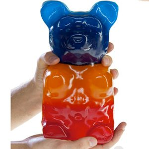 8. Giant Gummy Bear