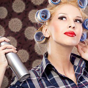 Alternative Uses for Fabric Softener: Remove Hair-Spray Residue