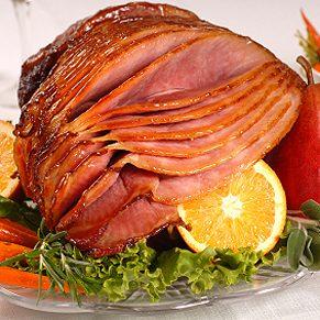 1 . Glaze a Ham