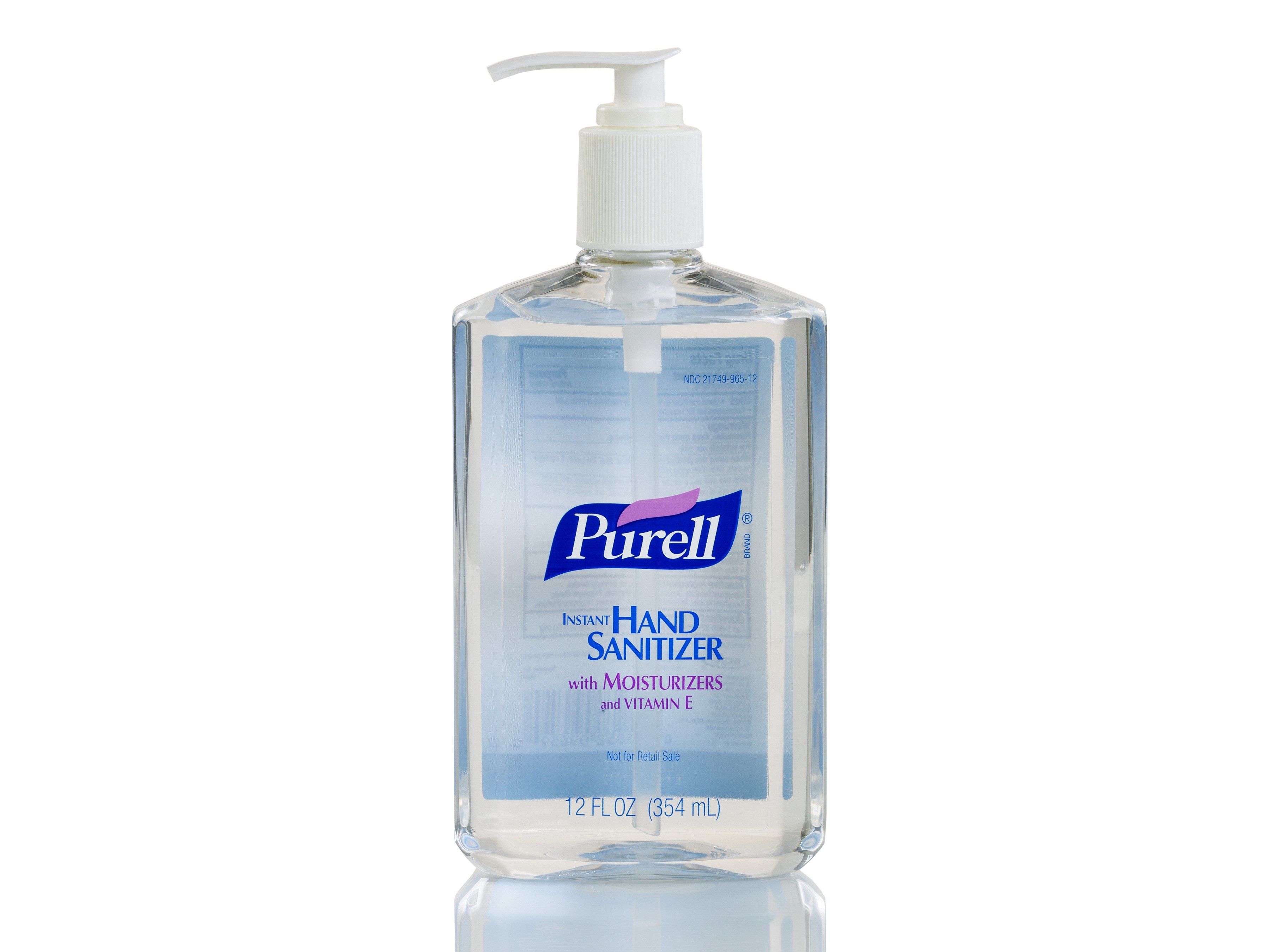 2. Hand sanitizer is the next best thing to washing.