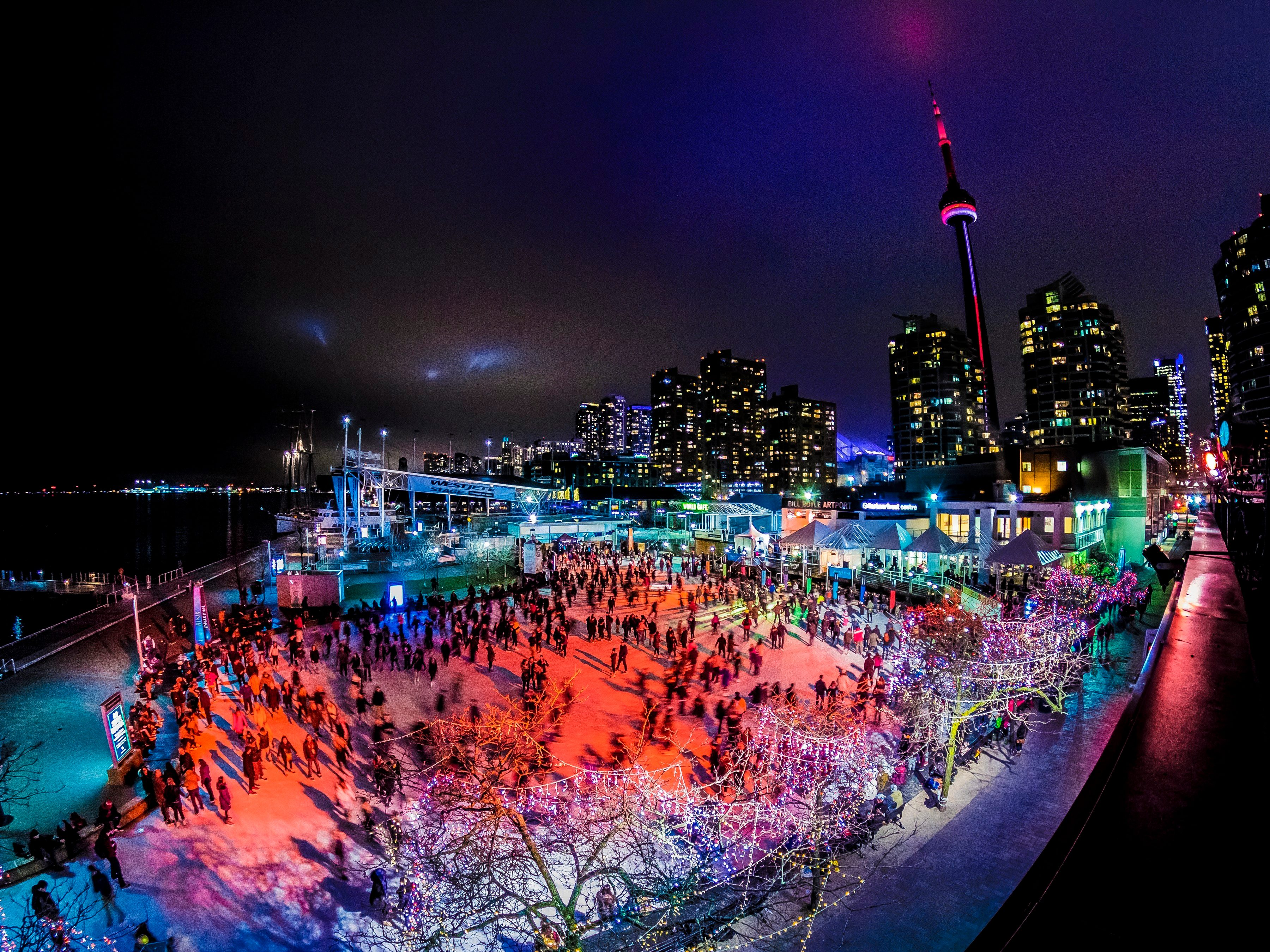 33. Harbourfront Centre's DJ Skate Nights
