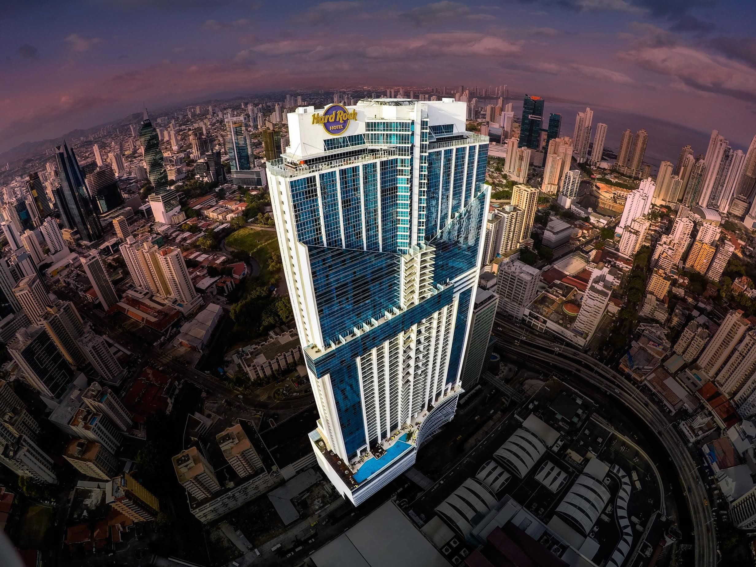 Panama's towering Hard Rock Hotel