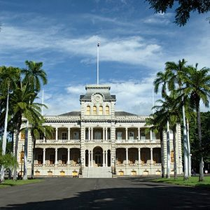 10. It's Home To America's Only Royal Palace