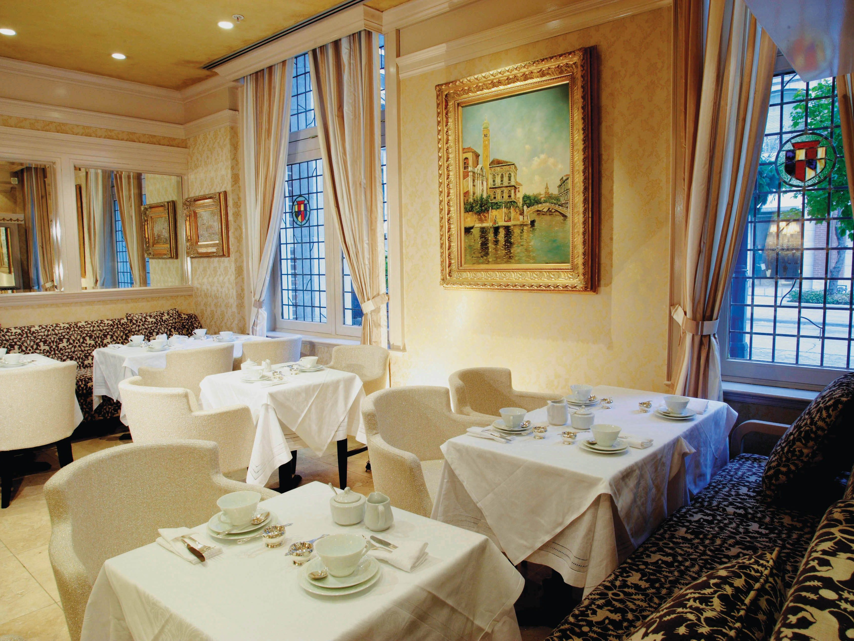 8. High tea at the Windsor Arms Hotel