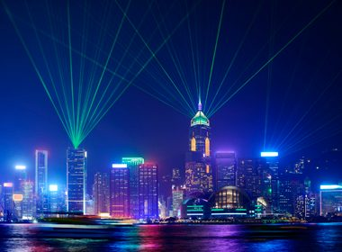 Symphony of Light Show - Hong Kong, China