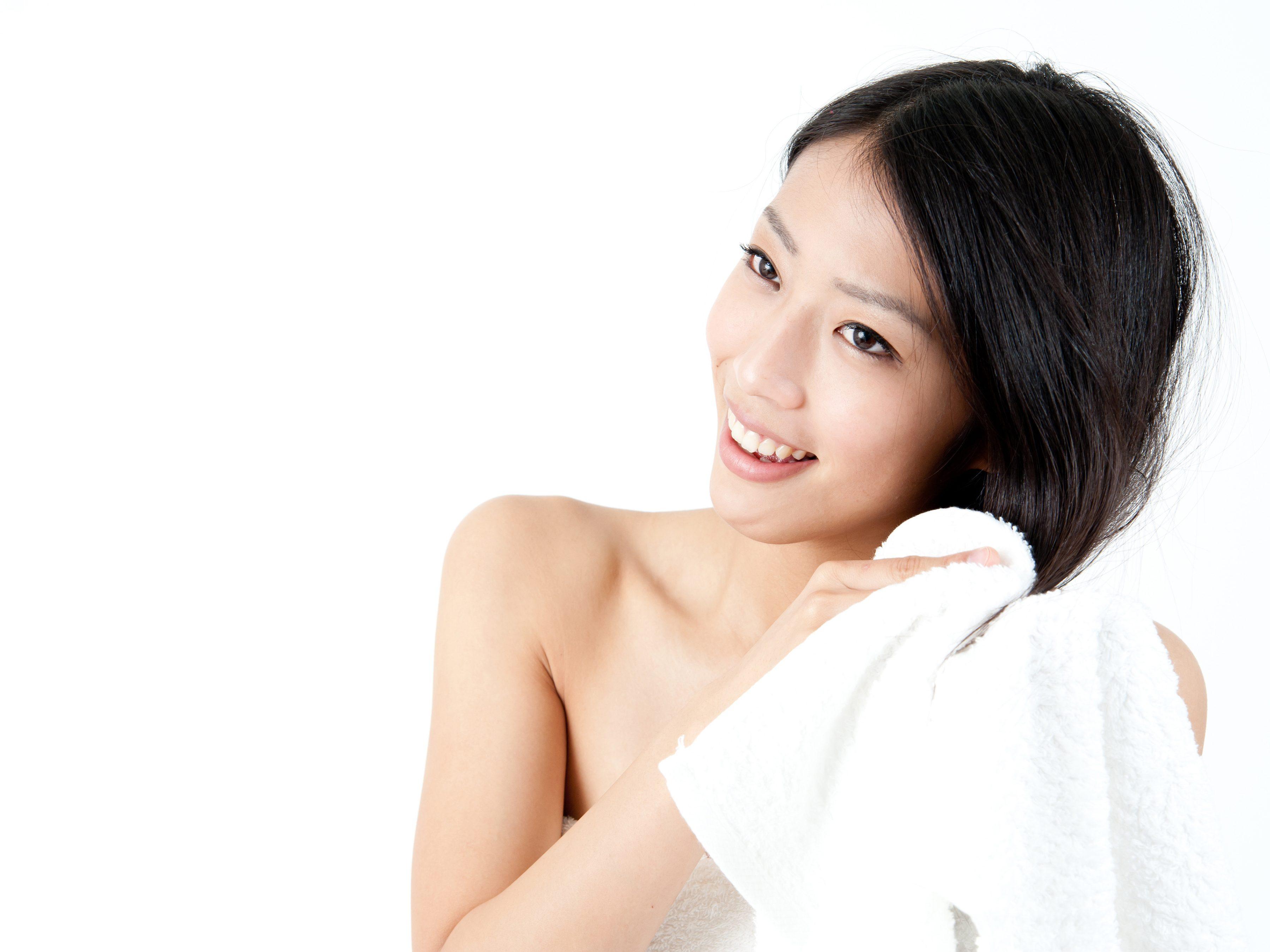 Lupinec riešenie č. 2: Nechajte vlasy na vzduchu suché