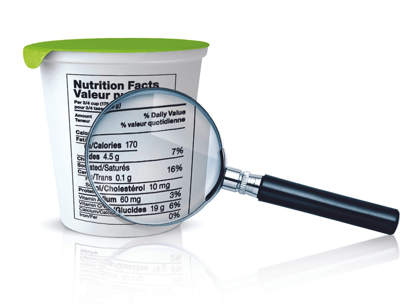Reading Nutrition Facts: SERVING SIZE
