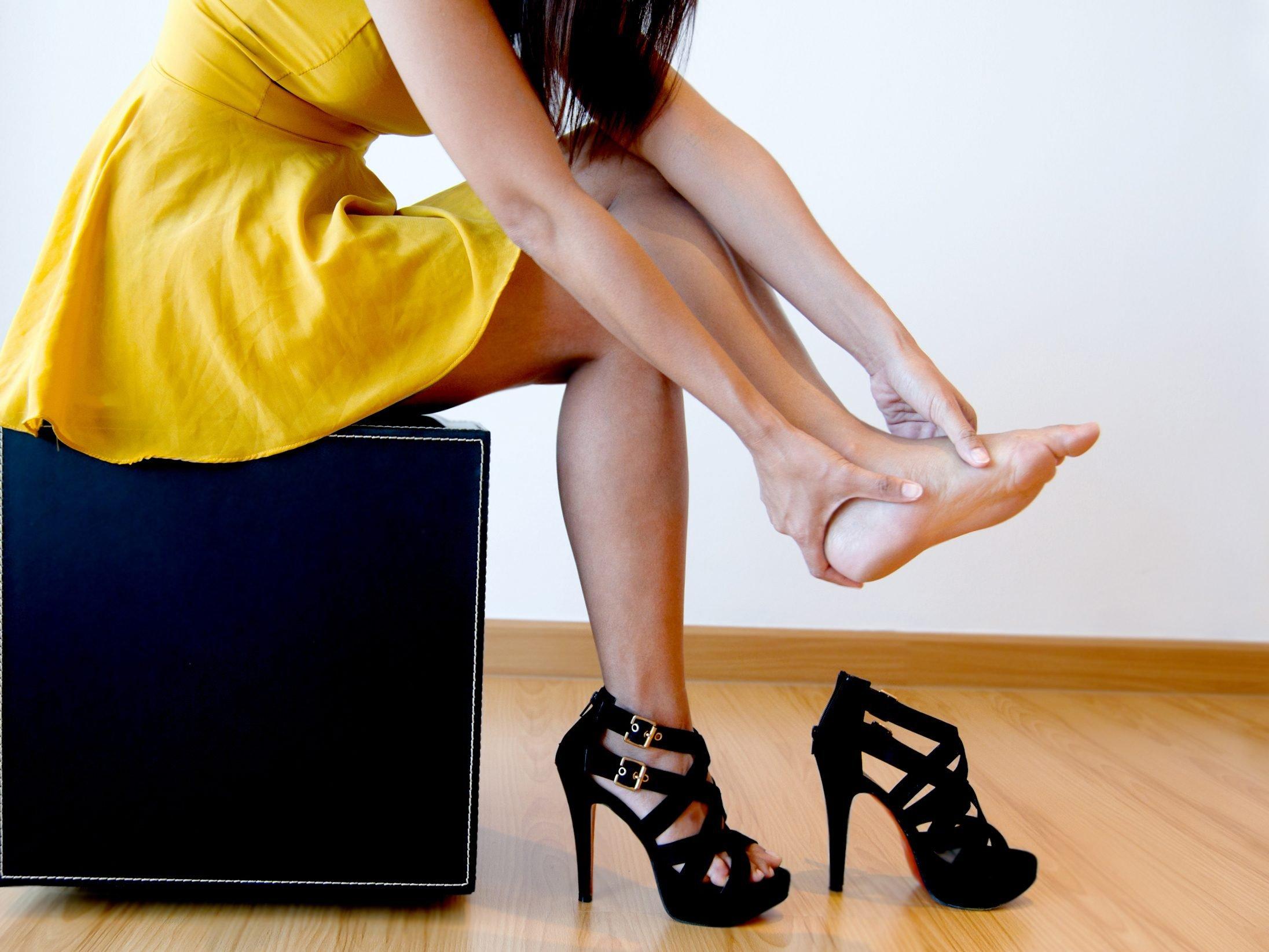 5. Soothe Heel Pain