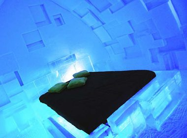 Spend the Night in Ice