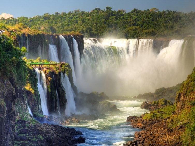 Natural Wonder: Iguazu Falls, Argentina/Brazil