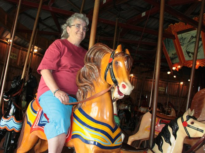 Riding on Sandy's Dream