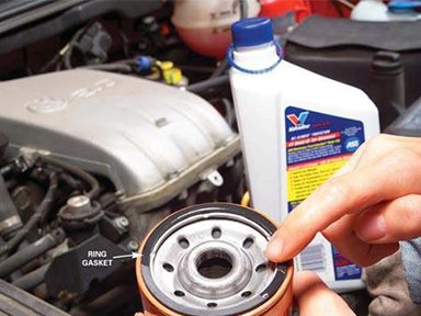 4. Install the New Oil Filter