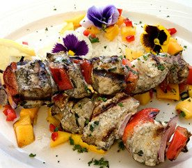 Recipe: Teriyaki Swordfish Skewers