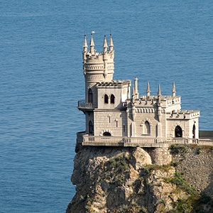 6. Swallow's Nest, Yalta, Ukraine