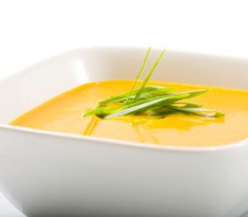 Yellow Squash Soup With Rosemary