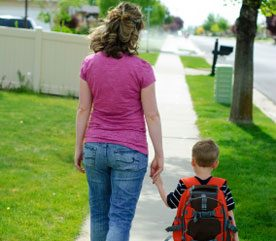 2. Walk Your Children To and From School