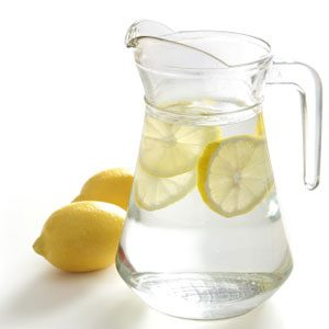 Start the Morning With a Glass of Lemon Water