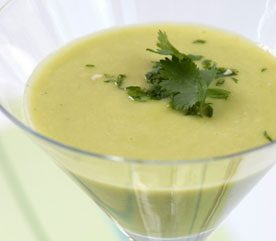 Avocado and Coconut Soup