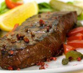 Recipe: Steak with Tangy Caper Relish
