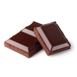 Indulge in a Bite of Dark Chocolate