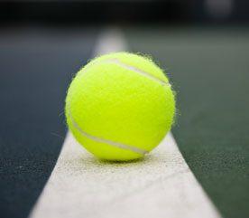 5. Roll on a Tennis Ball