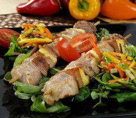 Recipe: Turkey Kebabs with Relish