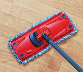 8. Clean Your Kitchen Floor the Easy Way
