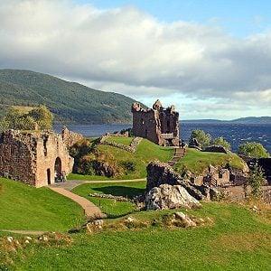 10. Urquhart Castle - Drumnadrochit, Scotland