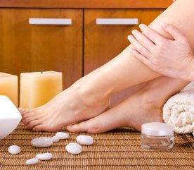 4. Massage Sore Feet