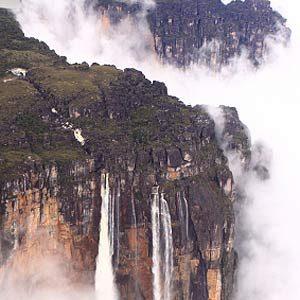 9. Tallest Waterfall in the World: Angel Falls, Venezuela