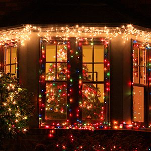 5. Fasten Christmas Lights