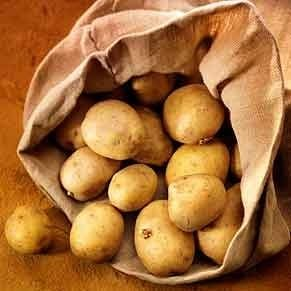 4. Potatoes Treat Swelling