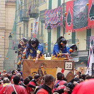 8. Battle of the Orange, Italy