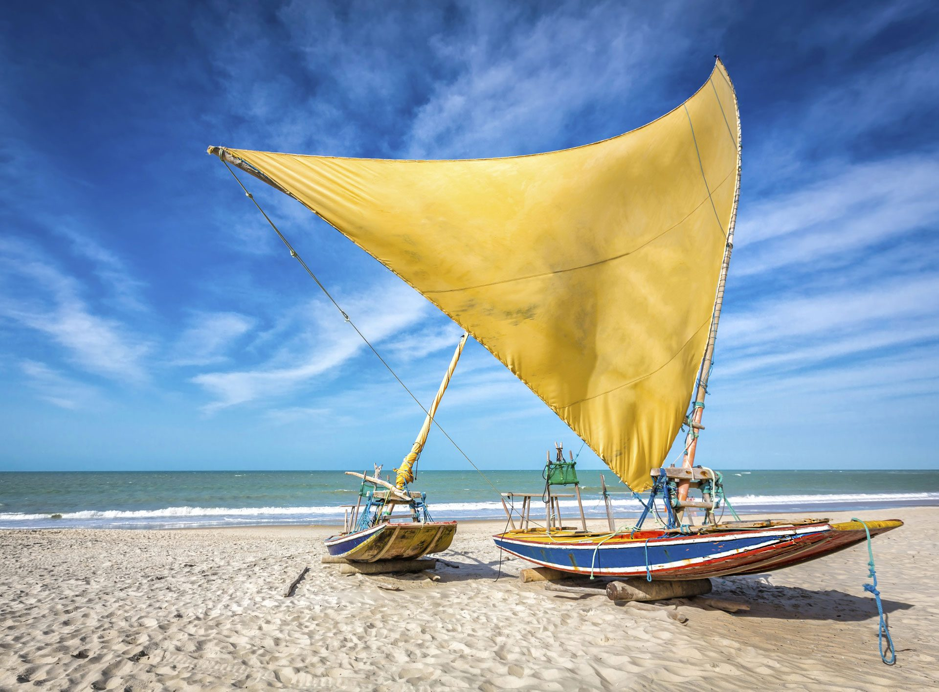 Catch a Sail at Regata da Jangadas