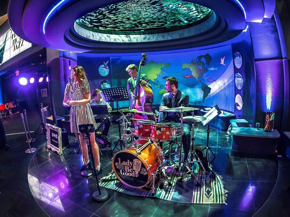 3. Friday Night Jazz at Ripley's Aquarium of Canada