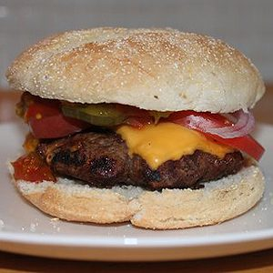 Jennifer's Chipotle and Cheese All-Beef Burger