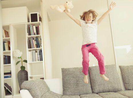 Got Kids? Choose a Forgiving Sofa Fabric