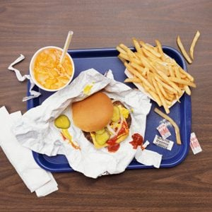 1. Eating Too Much Fast Food