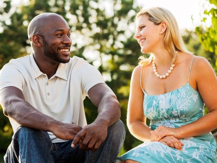 5. Keep the Conversation Light on a First Date