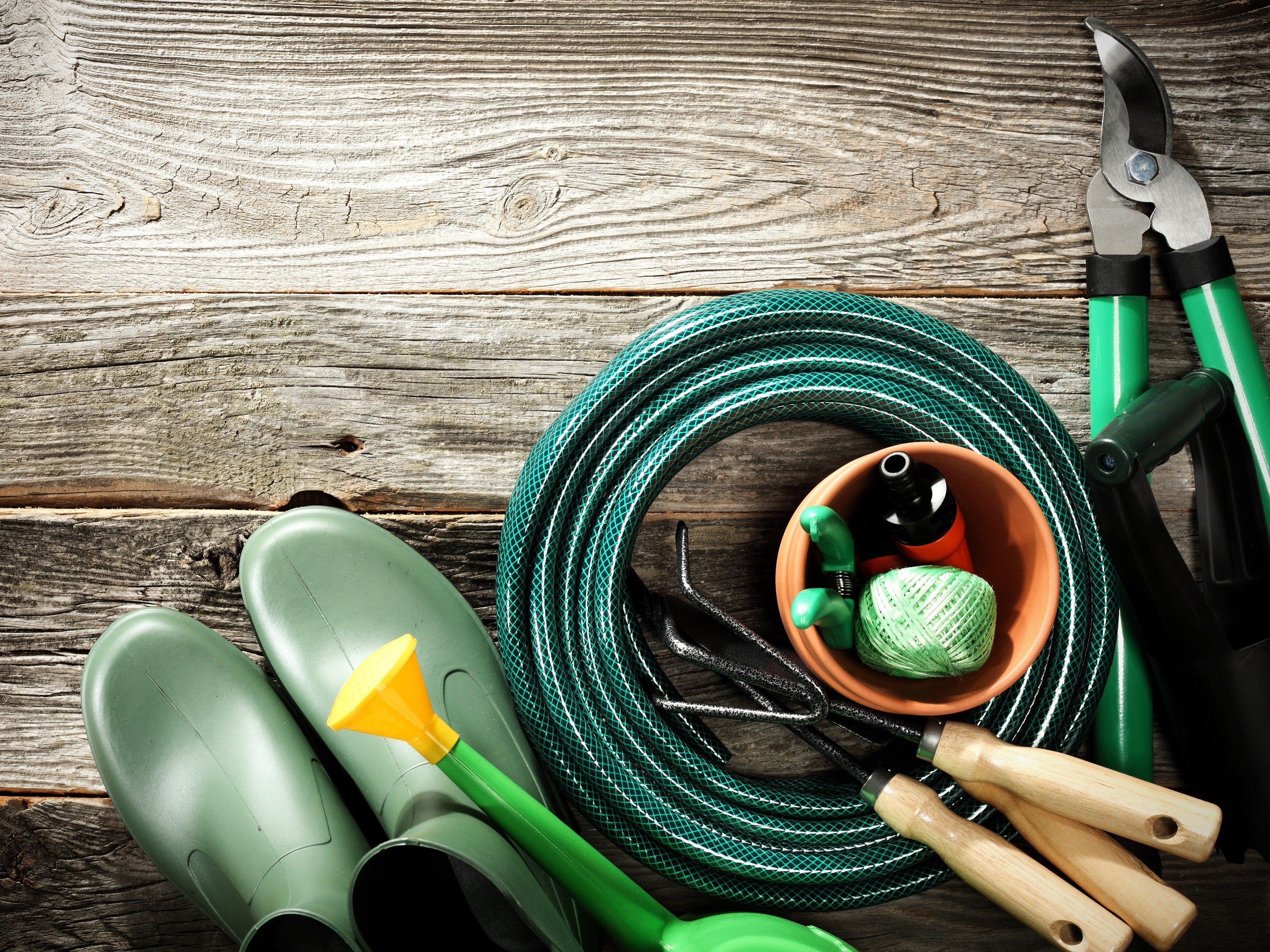 3. Gardez les outils de jardin à portée de main