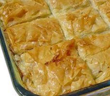 Spinach and Feta Phyllo Squares