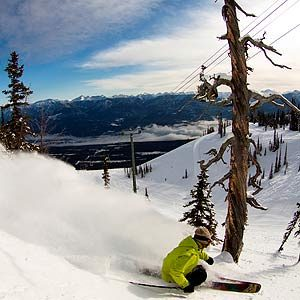 8. Kicking Horse Mountain Resort, Golden, B.C.