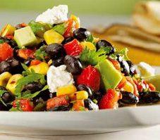 Southwest Black Bean and Avocado Salad