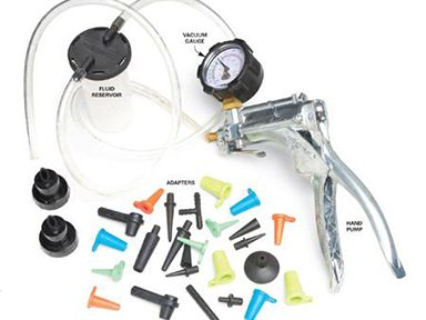 Essential Car Mechanic Tool #7: Vacuum Pump, Bleeder, Pressure-Testing Kit