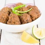 Browned Basmati Rice with Koftas