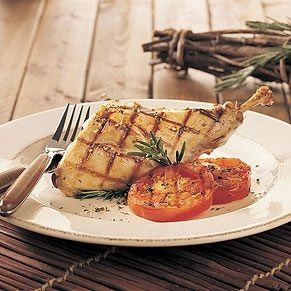 Grilled Rabbit With Herbs